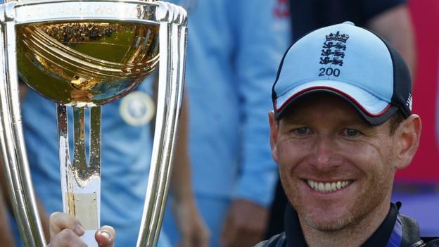 Cricket World Cup: England captain Eoin Morgan 'never imagined' win 1