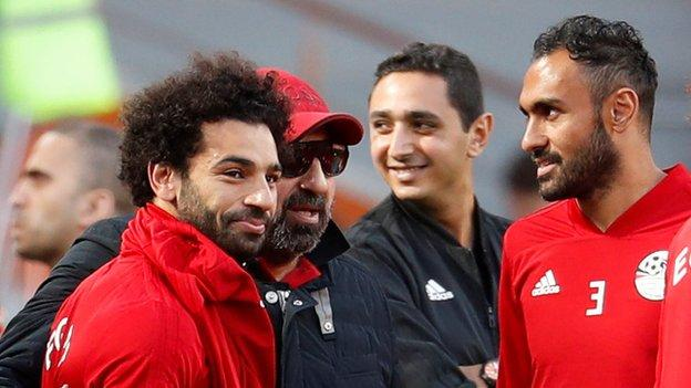 Image result for Russia 2018: Mo Salah fit for Egypt's opener
