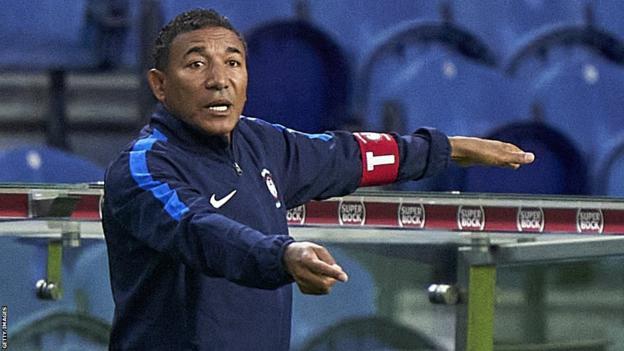 Angolan coach Lito Vidigal