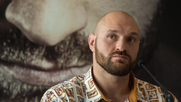 Tyson Fury on depression, drugs, drinking and his comeback fight