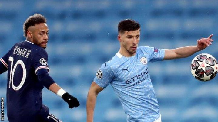 Manchester City's Ruben Dias named Football Writers' Association men's footballer of year