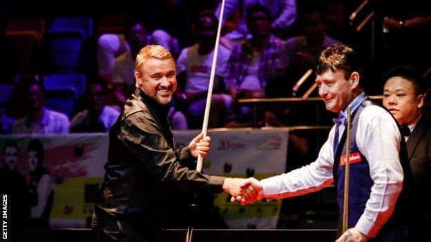 Stephen Hendry and Jimmy White