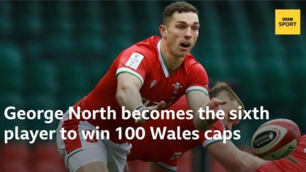 Wales' George North
