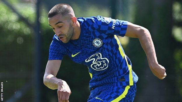 Hakim Ziyech struck a second-half hat-trick for Chelsea