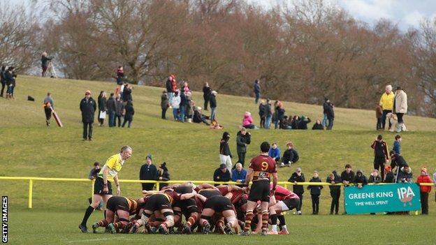 Ampthill face Cornish Pirates in the Championship in the 2019-20 season