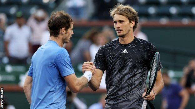 , Murray to skip Davis Cup after losing to Zverev at Indian Wells, The Evepost BBC News