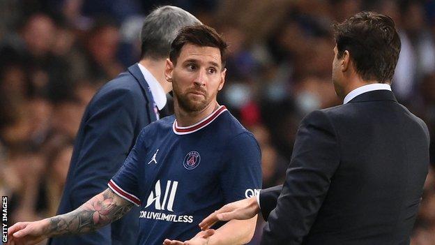 , Knee injury the reason for subbing Messi – Pochettino, The Evepost BBC News