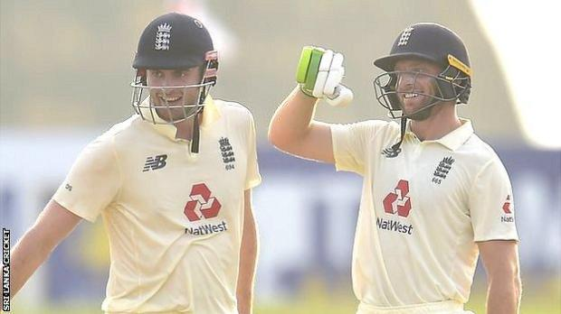 Dom Sibley and Jos Buttler