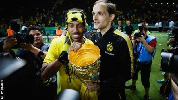 Thomas Tuchel at Dortmund