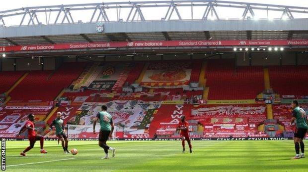 Empty Anfield