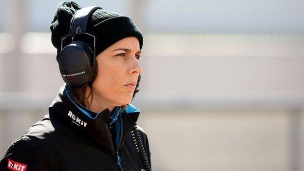 sport Claire Williams