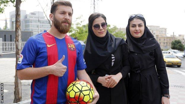 Reza Parastesh, the 'Iranian Messi'