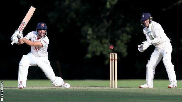 Sir Alastair Cook, the former England skipper, finished the day 75 not out at Arundel for Essex against Hampshire