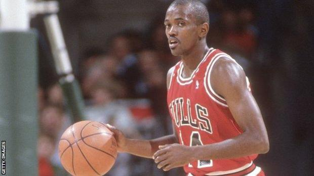 Craig Hodges in his Chicago Bulls playing days