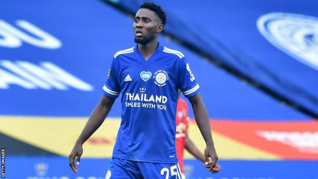 Leicester City and Nigeria's Wilfred Ndidi