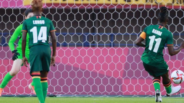 Banda scores a penalty