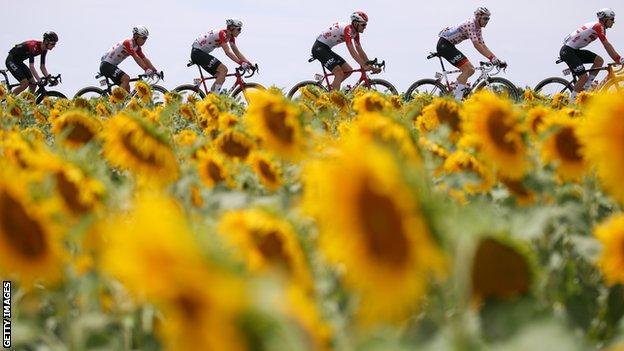 Riders of the Tour de France 2019