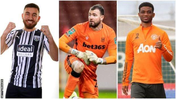 Robert Snodgrass, Andy Lonergan and Amad Diallo