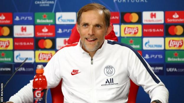 Paris St-Germain have won Ligue 1 twice since Thomas Tuchel was appointed in May 2018