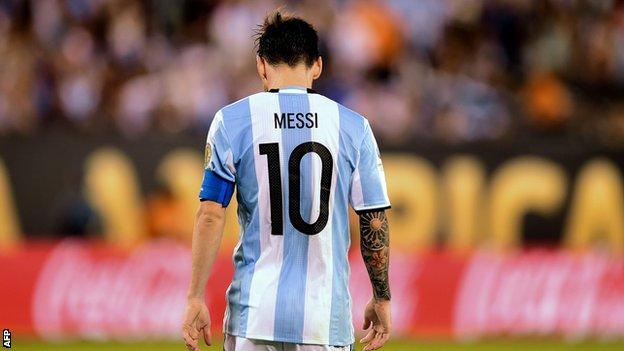 Lionel Messi Copa America 2016