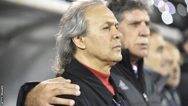 Algeria coach Rabah Madjer