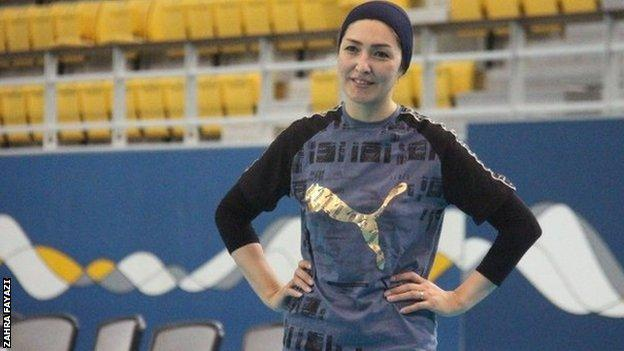 , Afghanistan's female volleyball players tell of threats and fear, The Evepost BBC News