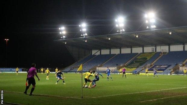 The Oxford-Wigan game had already been twice delayed and put back more than 24 hours by the freezing weather before the fire
