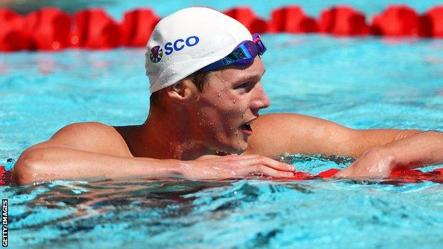 Duncan Scott swam 12 races in six days to become Scotland's most decorated athlete at a single Games