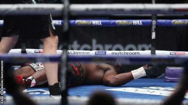 Whyte on the canvas