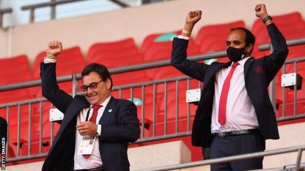 Arsenal chief executive Vinai Venkatesham