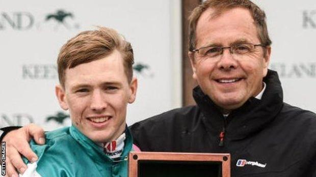 Jockey Colin Keane and trainer Ger Lyons