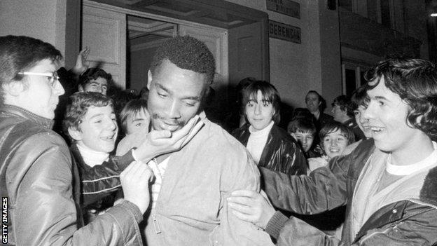 , Laurie Cunningham: An electric trailblazer, Real Madrid's first British player, The Evepost BBC News