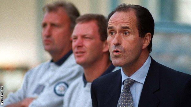George Graham led Leeds United to 11th place in 1996-97