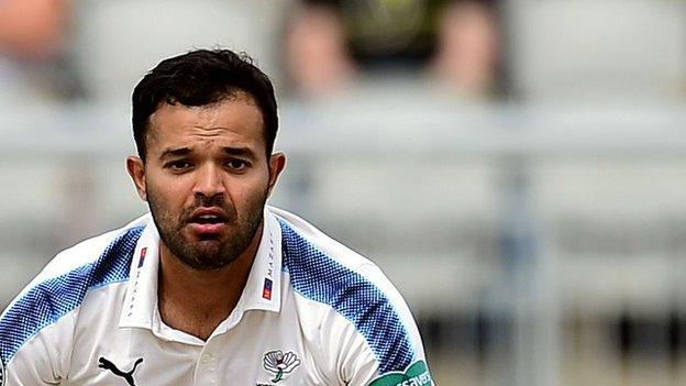 A former England youth captain, Azeem Rafiq captained Yorkshire in a Twenty20 fixture in 2012