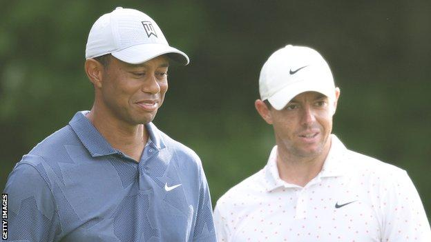 McIlroy went to visit Woods at his Florida home a few weeks ago
