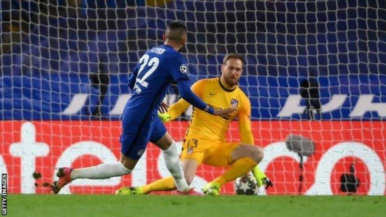 Chelsea 2-0 Atletico Madrid (3-0 agg): Hosts reach Champions League last  eight - BBC Sport