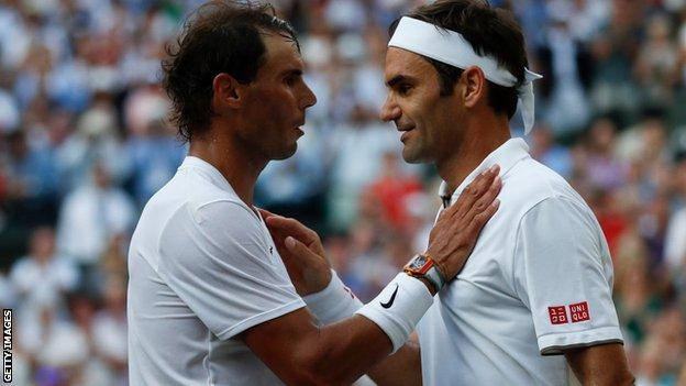 French Open: Roger Federer hails Rafael Nadal after Spaniard equals his  record - BBC Sport