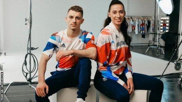 Max Whitlock and Bianca Walkden