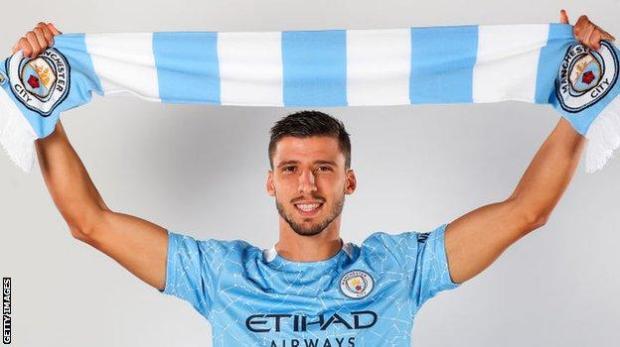 Manchester City defender Ruben Dias