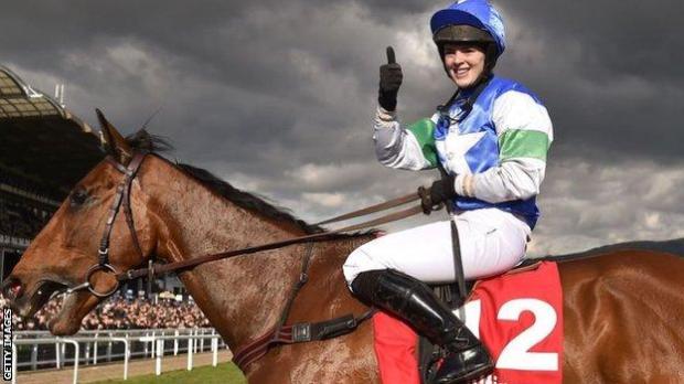 Jockey Lizzie Kelly