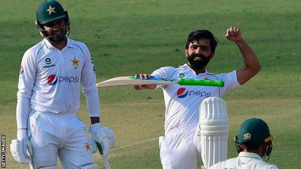 Pakistan batsman Fawad Alad