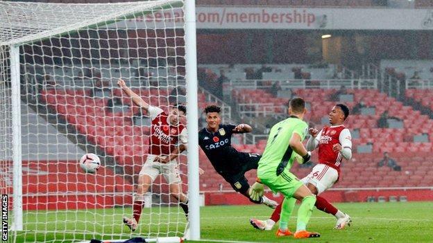 Arsenal 0-3 Aston Villa: Ollie Watkins scores twice in Villa win - BBC Sport