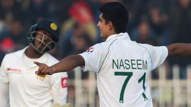 Pakistan v Sri Lanka: Naseem Shah impresses on opening day