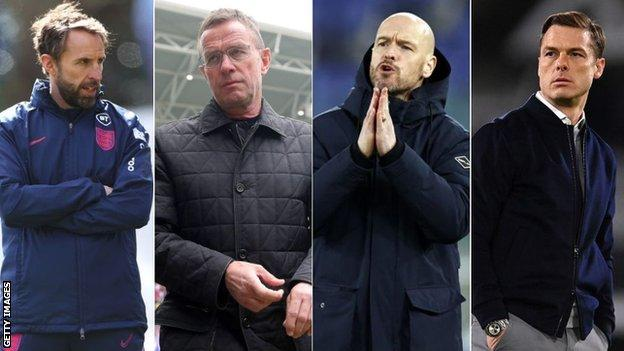 Gareth Southgate, Ralf Rangnick, Erik ten Hag and Scott Parker have all been linked with the job