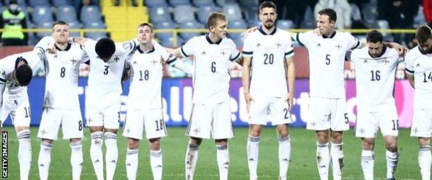 The penalty shoot-out in Sarajevo was the first in Northern Ireland's history