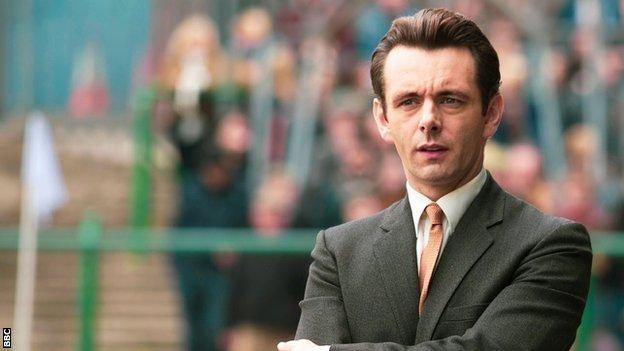 Michael Sheen as Brian Clough in 'The Damned United'