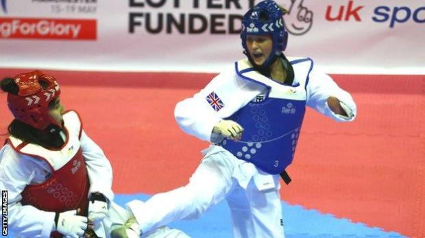 GB Para-taekwondo star Amy Truesdale