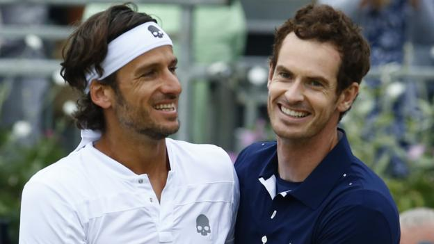 108303485 murray1 - Andy Murray and Feliciano Lopez through to last 16 of doubles in Cincinnati