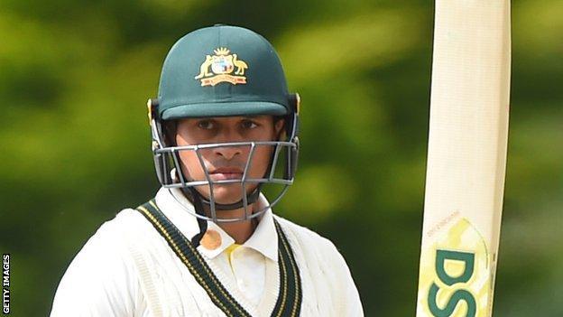 Australia batter Usman Khawaja