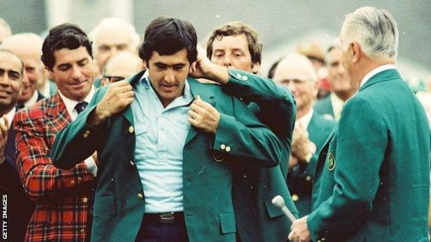 Seve Ballesteros became the first European to win the Masters in 1980 and, at age 23, was the youngest player to claim a Green Jacket at the time